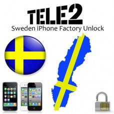 Tele2 Sweden iPhone 3GS / 4 / 4S / 5 ( Out of Contract ) Fast