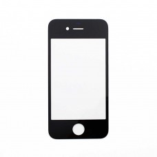 Скло (чорний) для iPhone 4G стекло black orig
