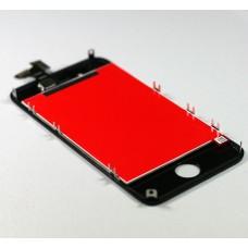 Дисплей для iPhone 4G з сенсором у рамці (чорний) LCD with touch and frame black full orig