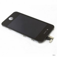 Дисплей з сенсором LCD iPhone 4G with touch and frame black orig