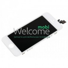 Iphone5 LCD+touchscreen white copy