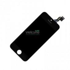 iPhone5C LCD+touchscreen black high copy