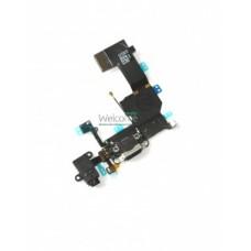 iPhone5C charging connector black orig