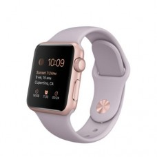 Watch Sport 38mm Rose Gold Aluminum Case with Lavender Sport Band (MLCH2)