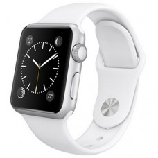 Watch Sport 42mm Silver Aluminum Case with White Sport Band (MJ2T2)