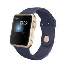 Watch Sport 42mm Gold Aluminum Case with Midnight Blue Sport Band (MLC72)