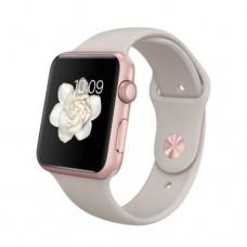 Watch Sport 42mm Rose Gold Aluminum Case with Stone Sport Band (MLC62)