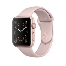 Apple Watch Series 1, 42mm Rose Gold Aluminum Case with Pink Sand Sport Band MQ112