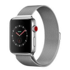 Apple Watch 42mm Series 3 GPS + Cellular Stainless Steel Case with Milanese Loop (MR1J2)