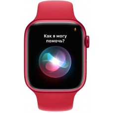Apple Watch Series 7 45mm GPS (PRODUCT) RED Aluminum Case With PRODUCT RED Sport Band