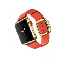 Watch Edition 38mm 18-Karat Yellow Gold Case with Bright Red Modern Buckle (MJ3G2)