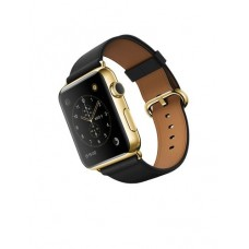 Watch Edition 42mm 18-Karat Yellow Gold Case with Black Classic Buckle (MLFH2LL)