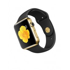 Watch Edition 42mm 18-Karat Yellow Gold Case with Black Sport Band (MJ8Q2)