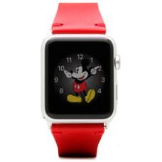 Ремінець SLG Design D7 IBL (D7BSAW-003) для Apple Watch 38mm червоний