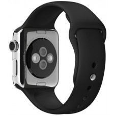 Ремінець 38mm Black Sport Band with Steel Pin для Apple WATCH