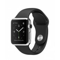 Watch 38mm Stainless Steel з ремінцем Black Sport Band (MJ2Y2)