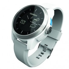 COOKOO Watch SilverOnWhite (CKW-SW002-01)