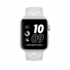 Apple Watch Series 2 Nike+ 38mm Silver Pure Platinum/White Nike Sport Band (MQ172)