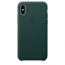 iPhone XS Max Leather Case — Forest Green